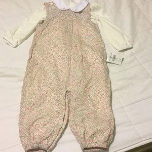 Ralph Lauren baby jumper 2piece set
